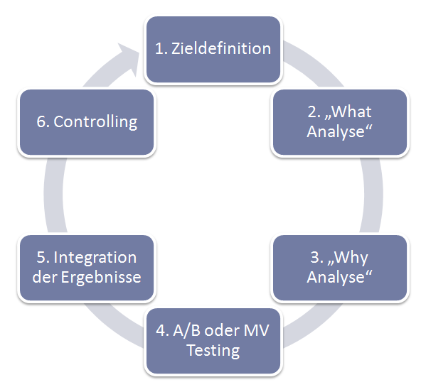 "Integration der ""Why Analyse"" in den Webanalyse Prozess"
