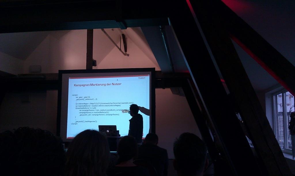 Code Erweiterung für die Kampagnen Markierung der Benutzer