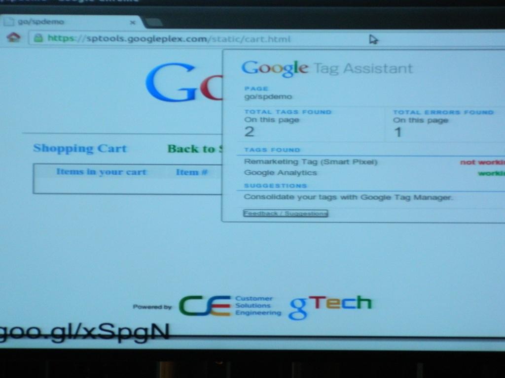 Der Google Tag Assistant