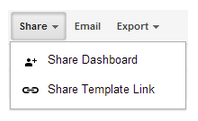 Die neue Share Dashboard Option