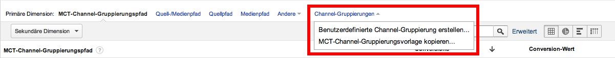 Die Benutzerdefinierte Channel Erstellung innerhalb von Google Analytics