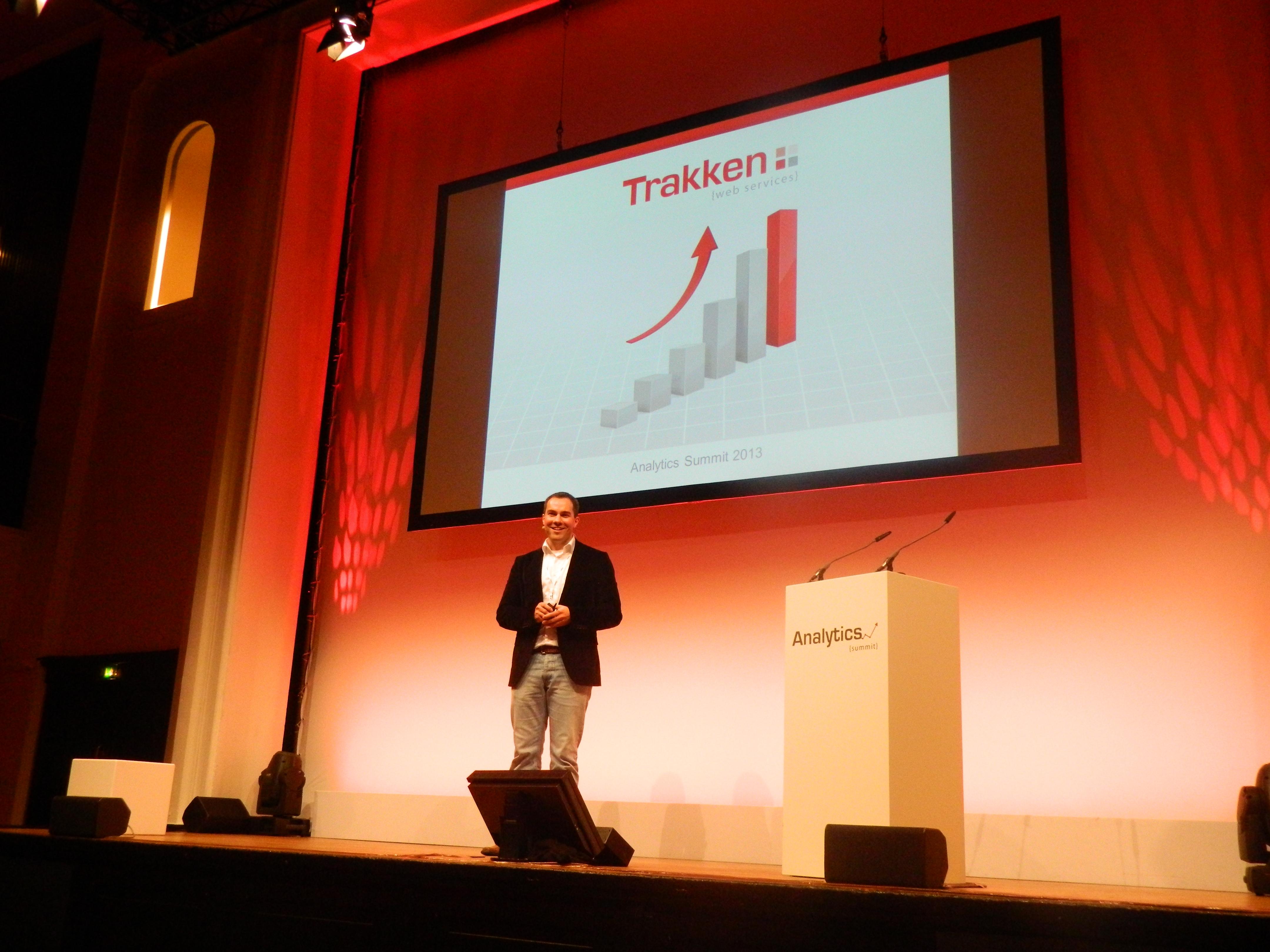 Lennart Paulsen bei seinem Vortrag zum Thema KPIs